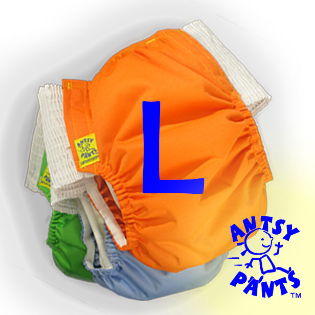 Antsy Pants™ Size L for bigger kids apx. 45-60lbs