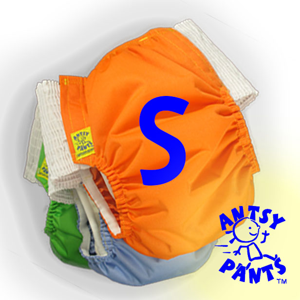 Antsy Pants™ Size S for Littles apx. 15-30lbs