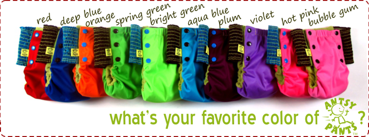 What's Your Favorite Color of Antsy Pants™?